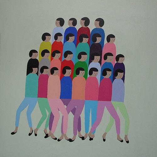 Artist painter Santiago Salvador paintings