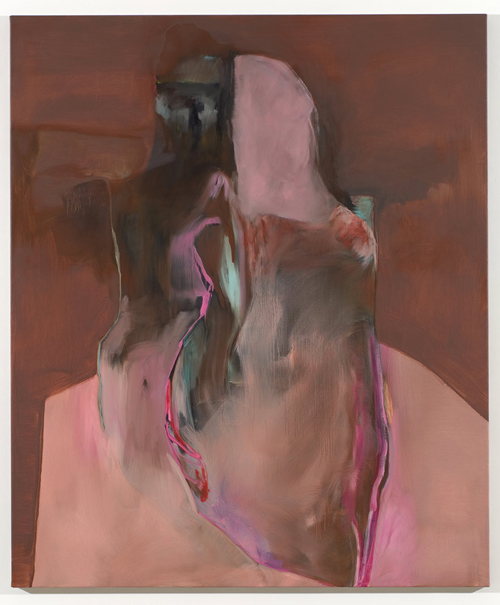 Artist painter Stef Driesen painting