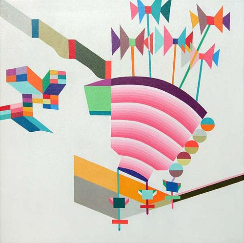 Artist painter Takashi Iwasaki paintings