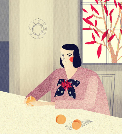 Artist illustrator Eugenia Barinova illustration