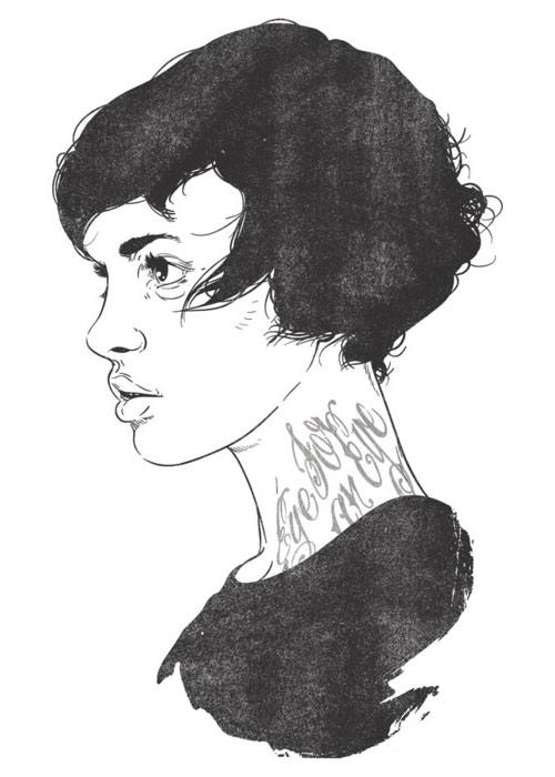 Illustrator Matthew Woodson illustration