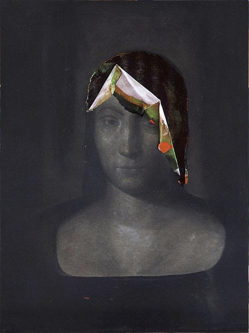 Artist painter Nicola Samori painting