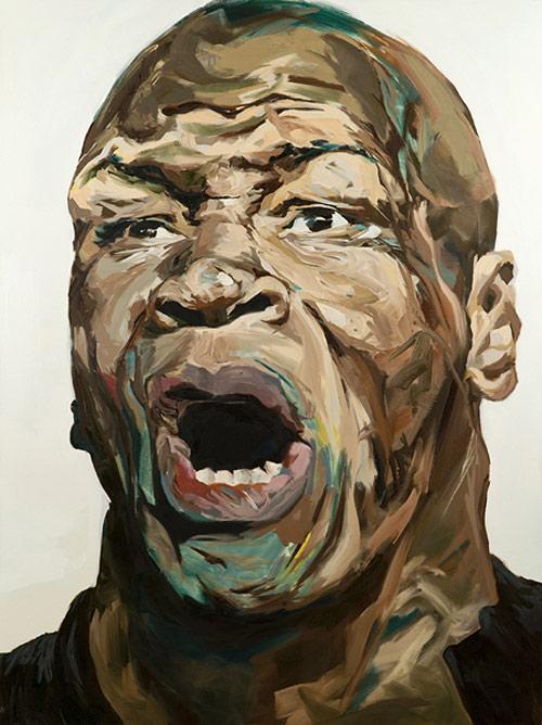 Artist painter David T. Cho painting vancouver