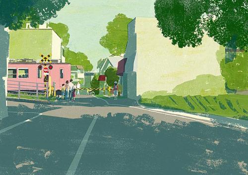 Illustrator Tatsuro Kiuchi illustration