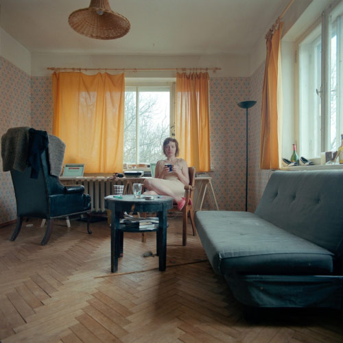 TV Portraits by photographer Andris Feldmanis