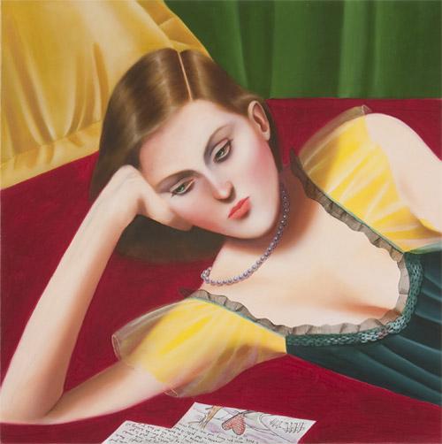 Artist painter Jocelyn Hobbie paintings