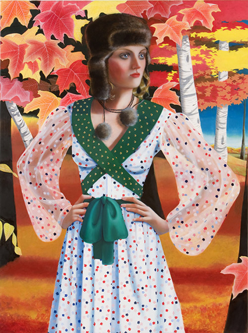 Artist painter Jocelyn Hobbie paintings