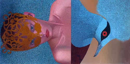 Artist painter Kevin Chupik paintings