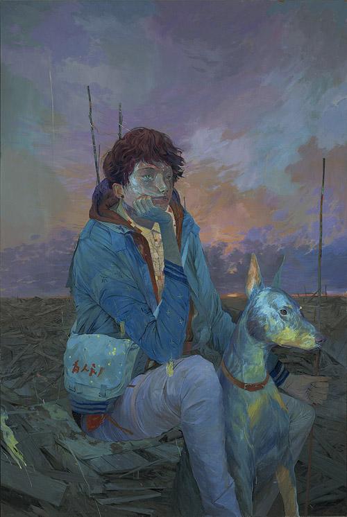 Artist painter Andrew Hem