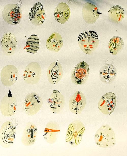 drawings by artist nick mann aka doodles