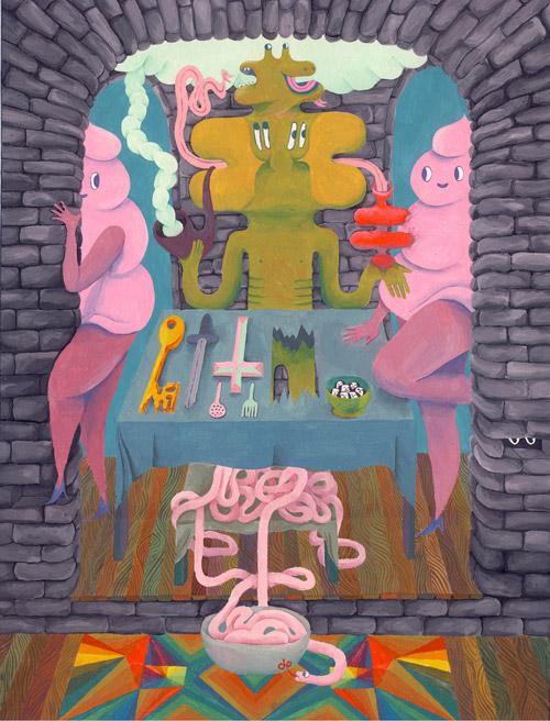 Artist Ginette Lapalme