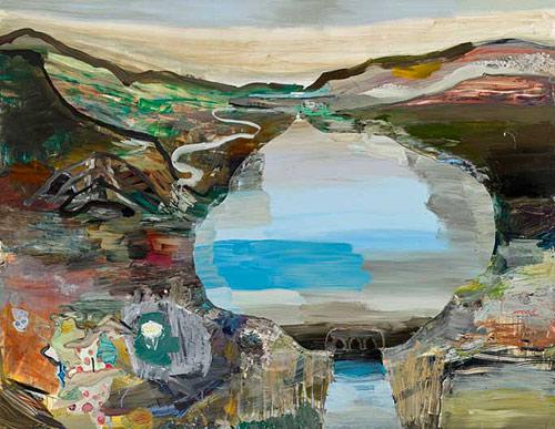 Artist painter Lisa Sanditz paintings