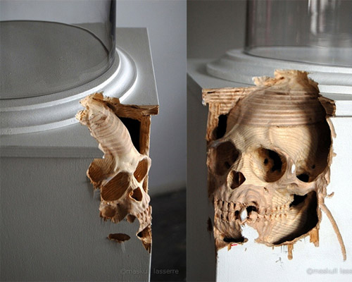 Sculptures by artist Maskull Lasserre