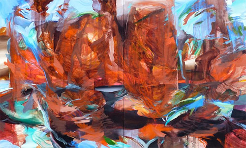 Artist painter Steven Yazzie
