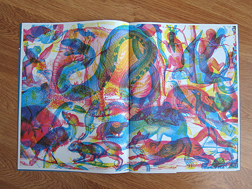 Wrap paper magazine illustration publication