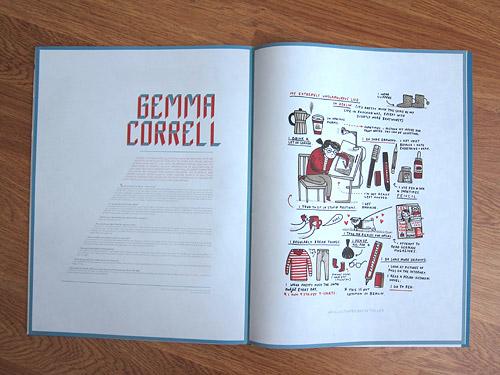 Wrap paper magazine illustration publication