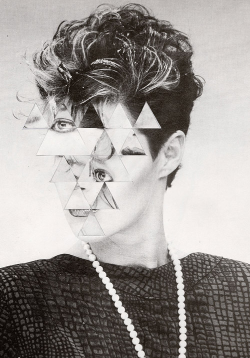 Paper collages by artist Ariel Chiesa