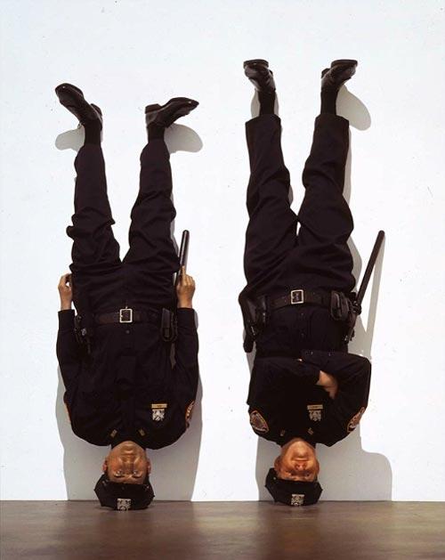 Artist Maurizio Cattelan sculptures installations