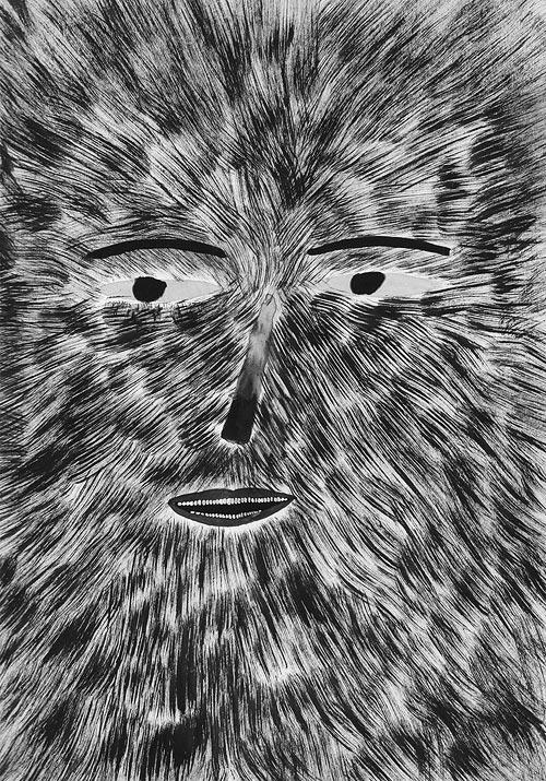 Drawings by artist Nicolas Burrows