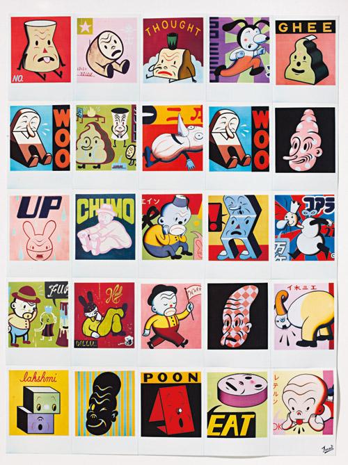 Artist illustrator Gary Taxali illustration