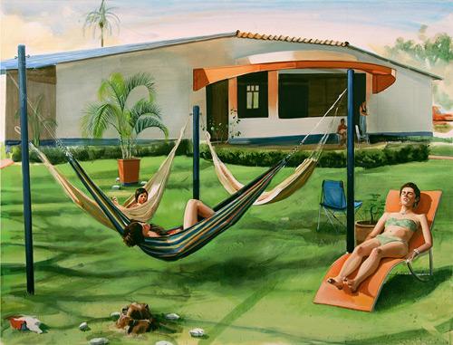 Artist painter Adam de Boer paintings