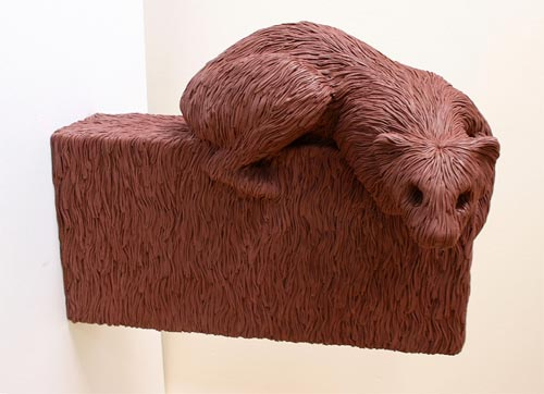 Sculptures by artist Carl D'Alvia
