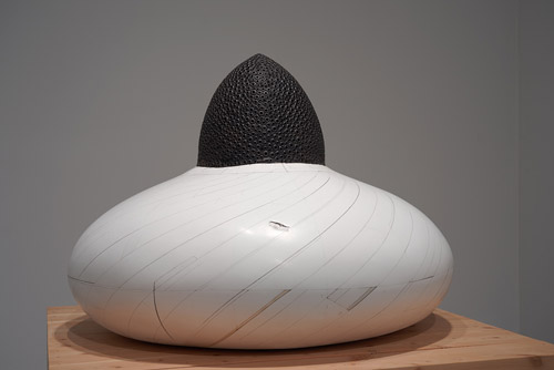 Sculptures by artist Hiroyuki Hamada