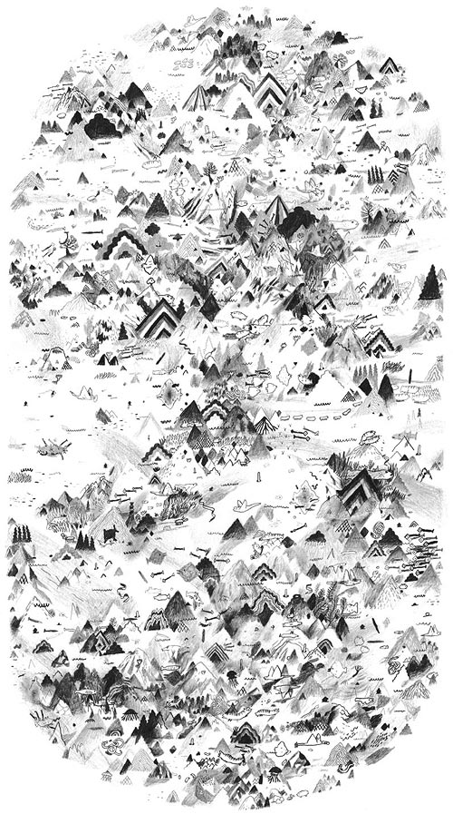 Drawings by illustrator Kai Nodland illustration