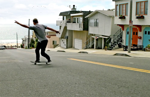 Lakai footwear Rick Howard ad