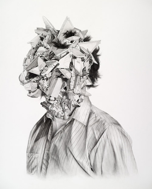 Drawings by artist Chris Scarborough