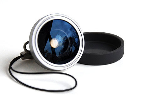 magnetic wide angle lens