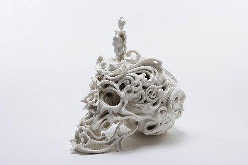 Sculptures by artist Katsuyo Aoki