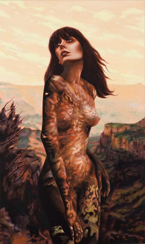 Artist painter Alison Blickle paintings