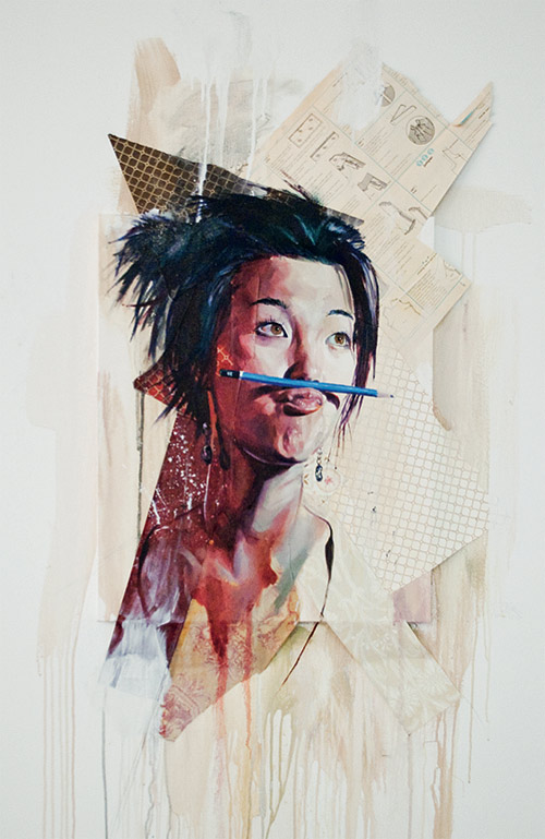 Vancouver based artist painter Andrew Young