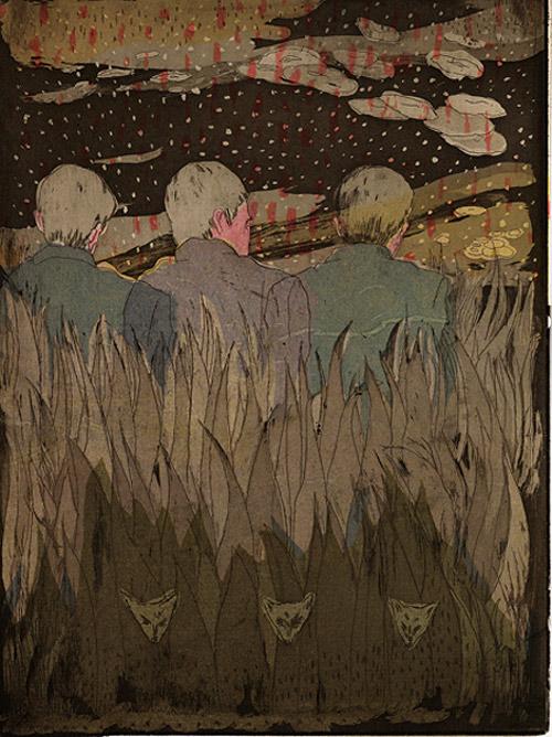 Artist illustrator Anna Topuriya