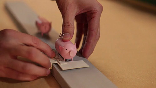 Making of Back to the Start stop motion animation by Johnny Kelly