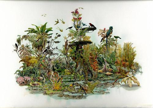 Artist painter Ben Blatt paintings