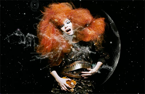 Bjork Moon music video biophilia
