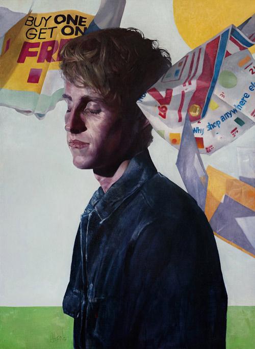 Artist painter Eli Horn