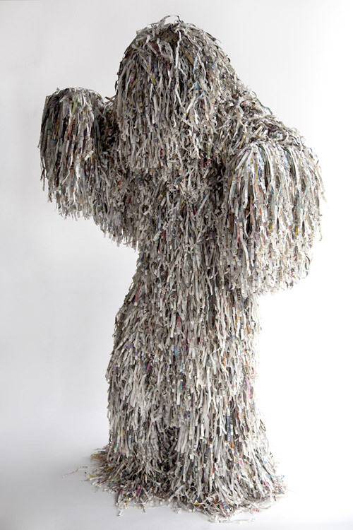 Costume sculpture by Fabio Lattanzi Antinori and Alicja Pytlewska