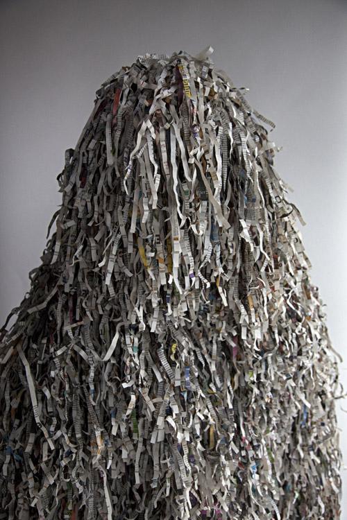 Costume sculpture by Fabio Lattanzi Antinori and Alicja Pytlewska