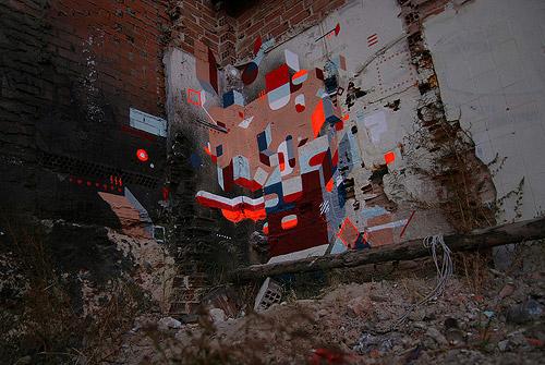 Street artist Nelio