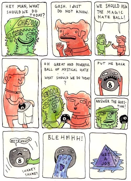 Comic artist Sean Clark