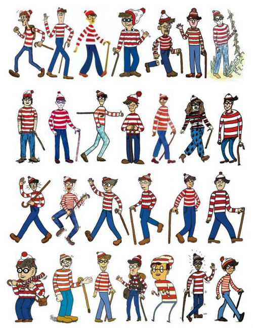 wheres waldo wally book idea proposal islands fold