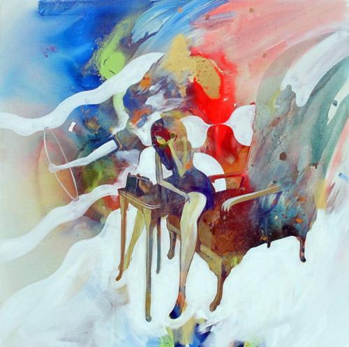 Artist painter Will Barras paintings