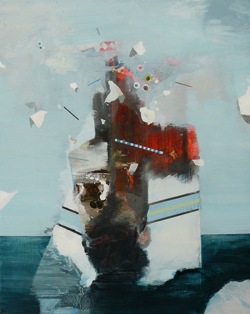 Artist painter Bas Zoontjens