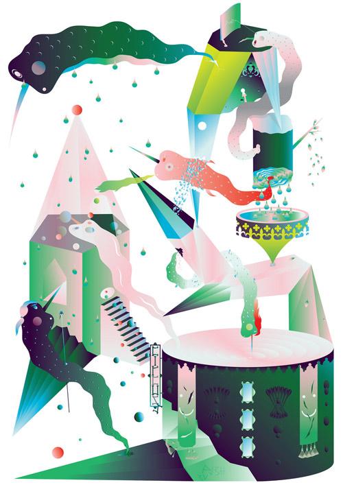 Illustrator Dmytro Didora illustrations