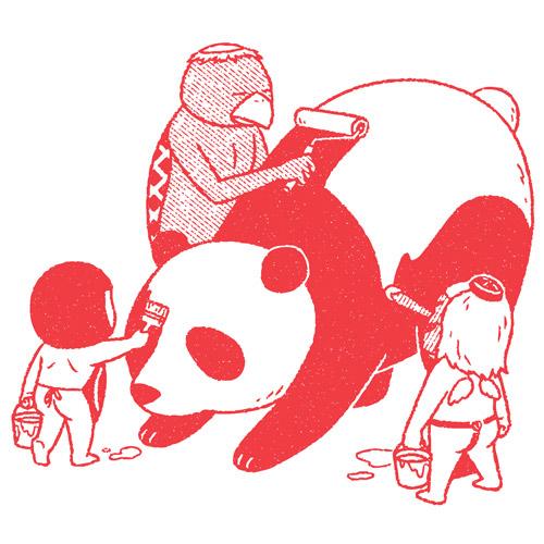 Drawings by illustrator1 Kimiaki Yaegashi aka Okimi