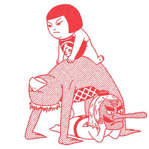 Drawings by illustrator Kimiaki Yaegashi3 aka Okimi