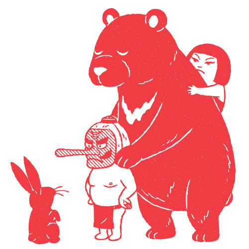 Drawings by illustrator Kimiaki Yaegashi aka4 Okimi